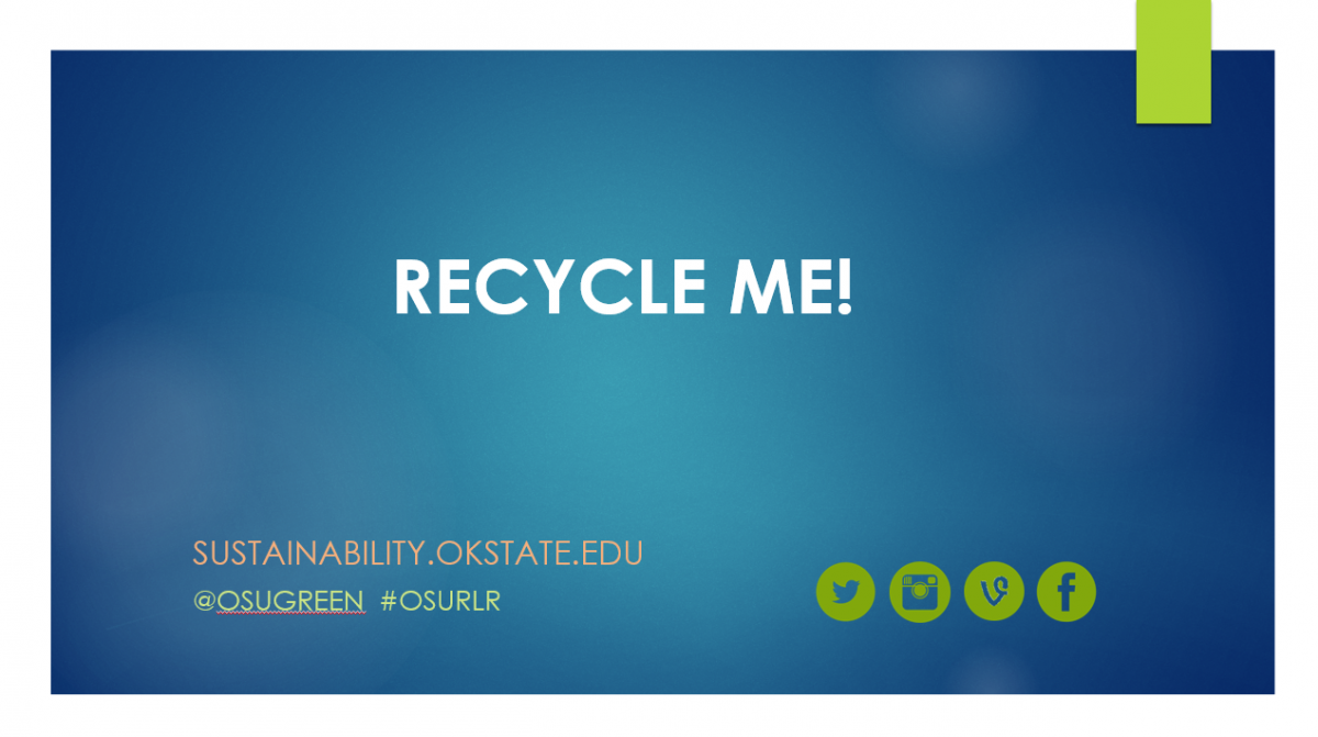 Recycle Me Powerpoint Screenshot