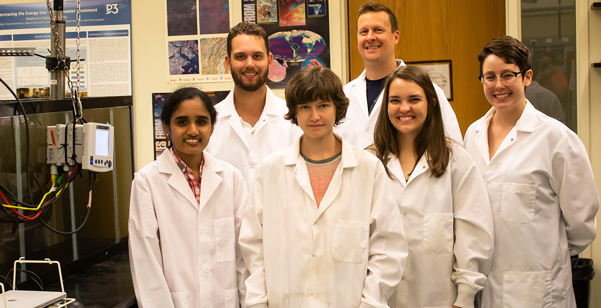 wastewater research team